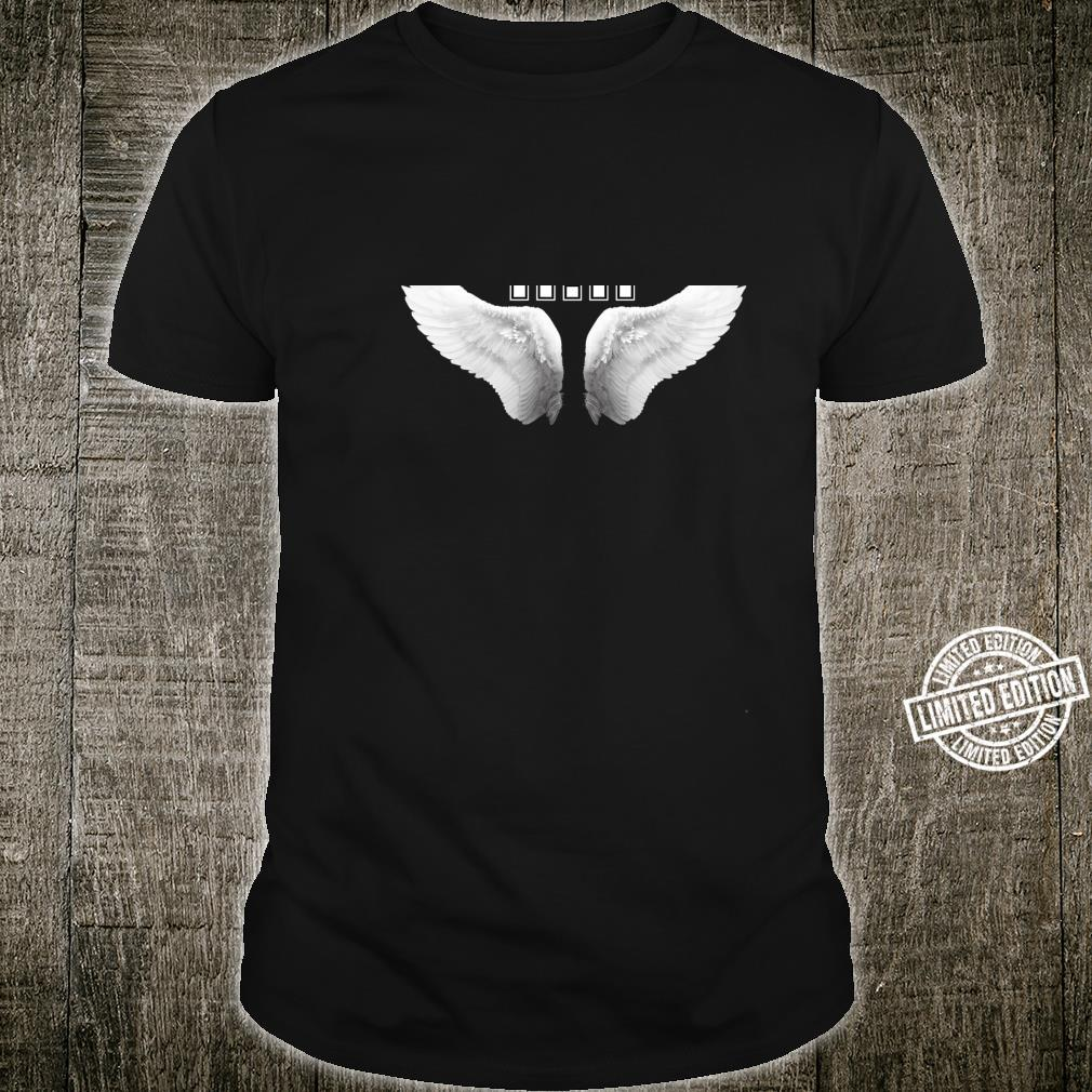 1111 Angel Wings Design on the Back 1111 Make a Wish Shirt