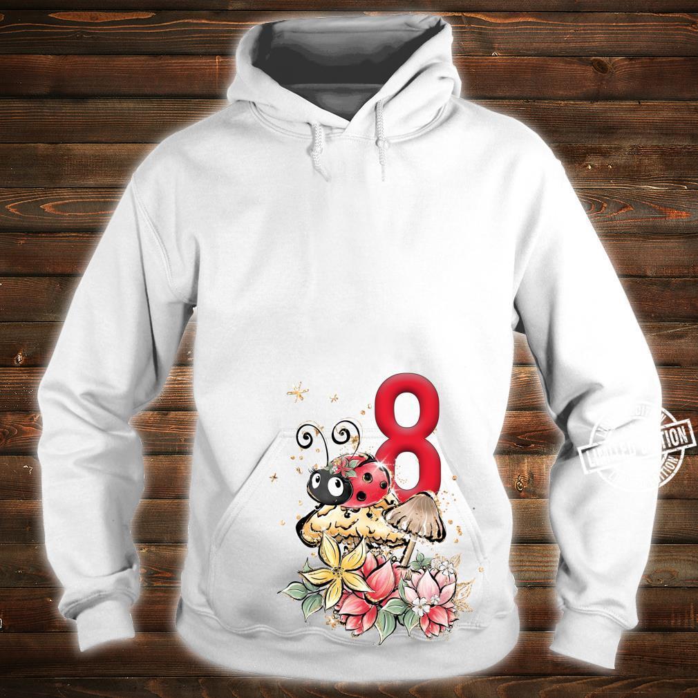 8. Geburtstag Marienkäfer Party Lady Bug Acht Outfit Mädchen Shirt hoodie