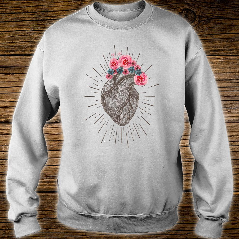 Anatomical Heart Retro Human heart for Cardiologists Shirt sweater