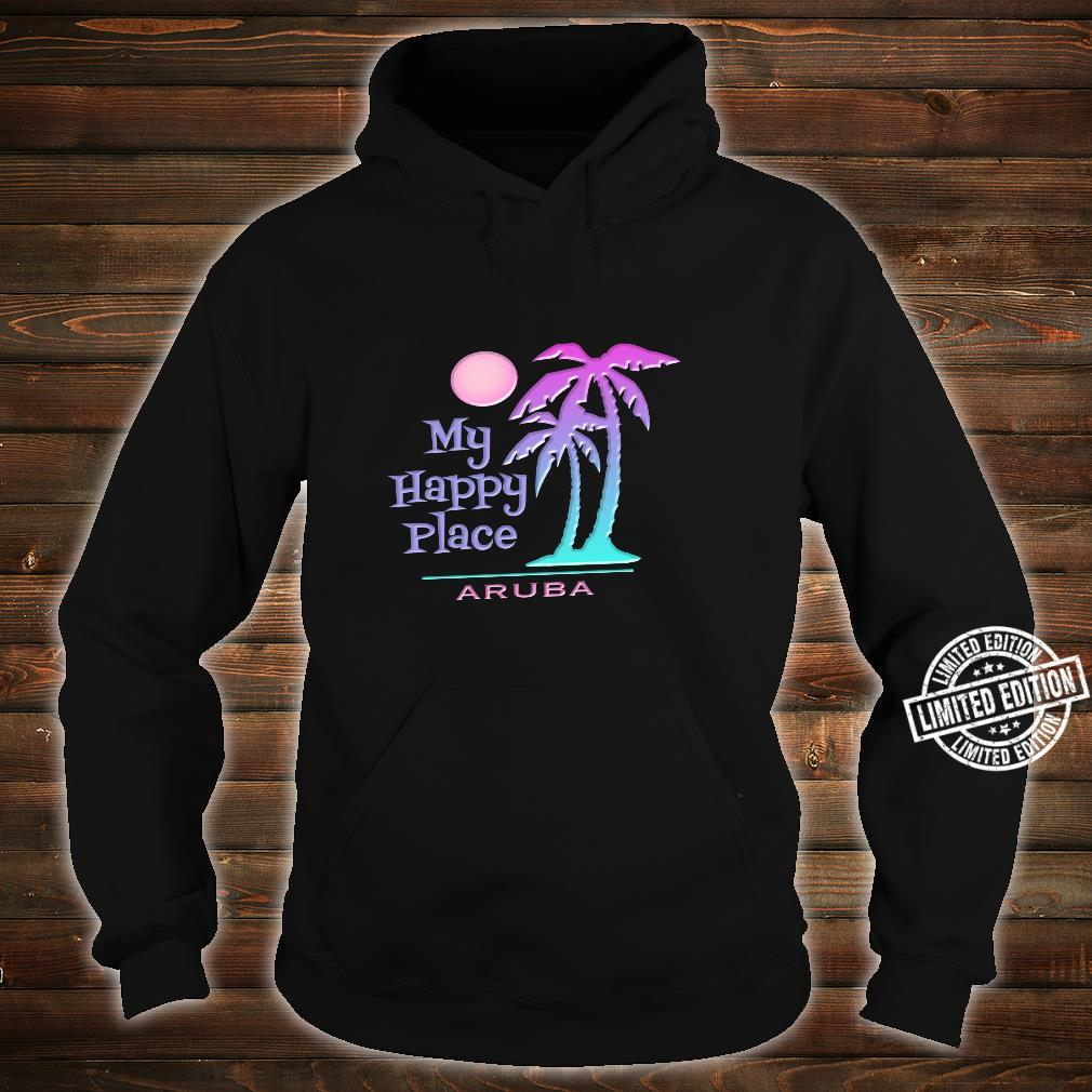 Aruba Souvenir Palme Happy Beach Sun Shirt hoodie