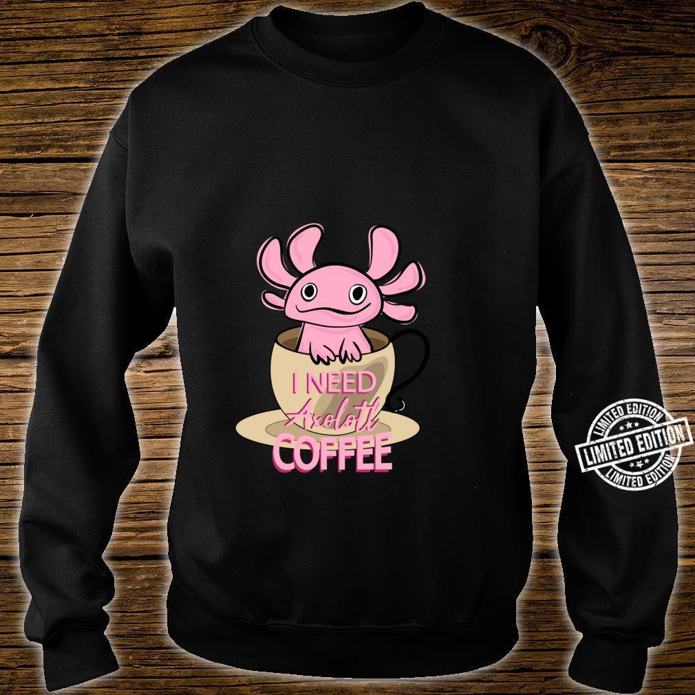 Axolotl Ambystoma Mexicanum Amphibien Lustig Shirt sweater