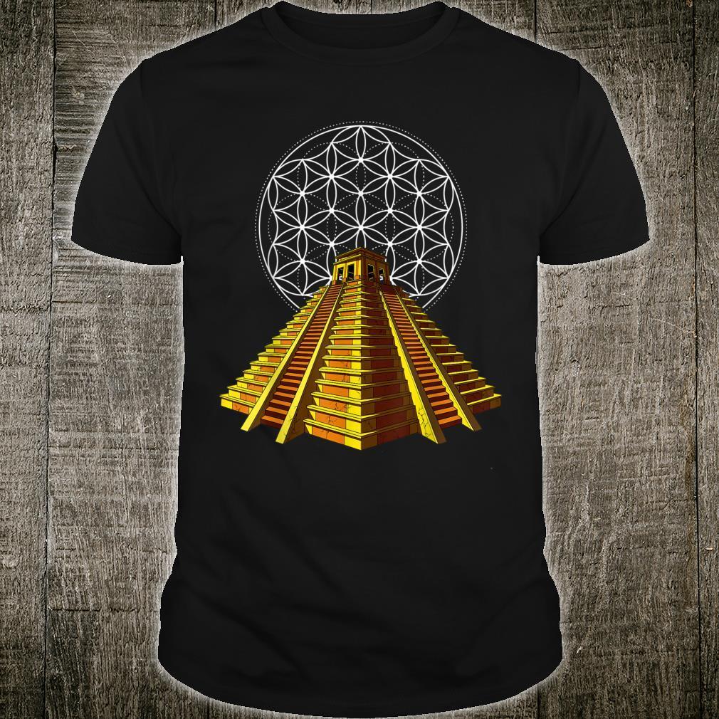 Aztec Pyramid Ancient Civilization Mayan Mythology Shirt