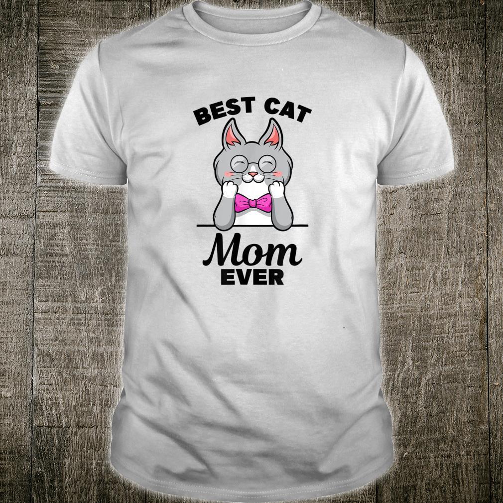 Best Cat Mom Ever Design für Maine CoonLiebhaber Shirt