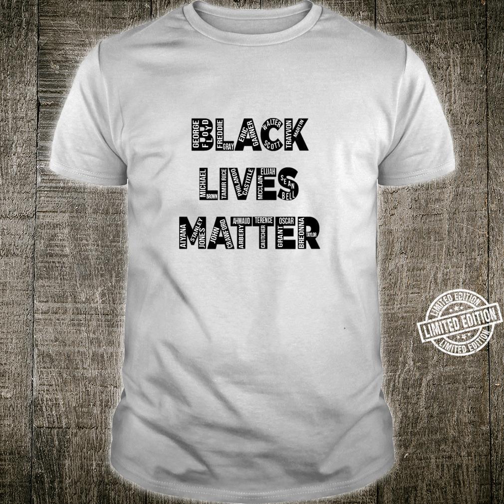 Black Lives Matter, AntiRacism, Equal Rights, Diversity Shirt