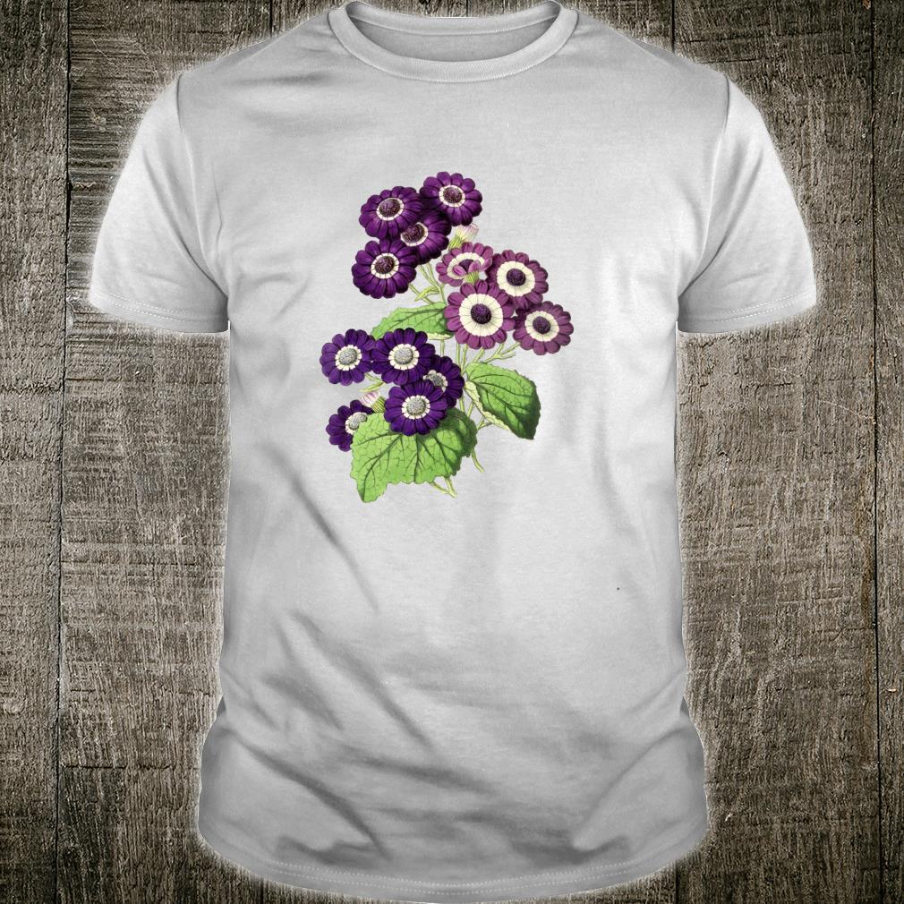 Botanical vintage floral wildflower Shirt