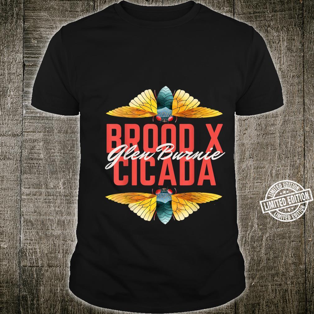 Brood X Cicada Invasion Glen Burnie Maryland Bug 2021 Shirt
