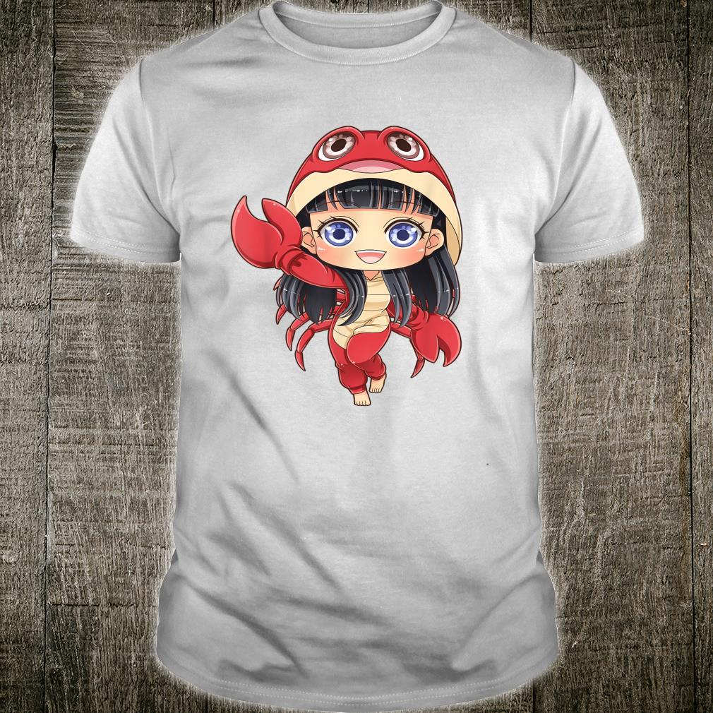 Cancer Mosbies Anime Chibi June July Birthday Present Shirt