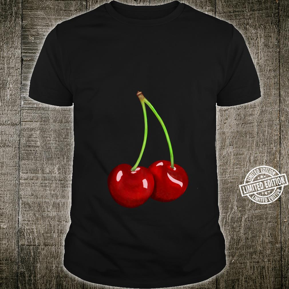 Cherry Rockabilly Retro Vintage Design Shirt
