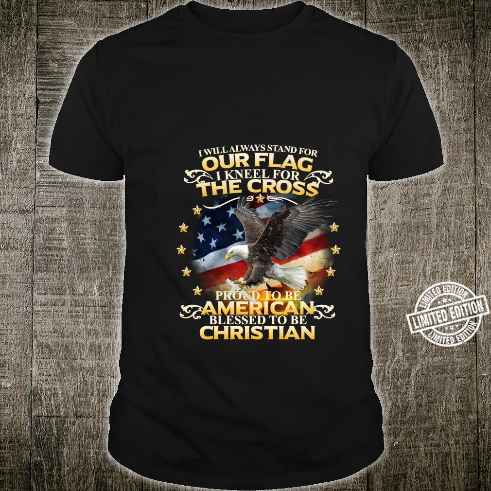 Christian Patriotic American Flag shirt Shirt