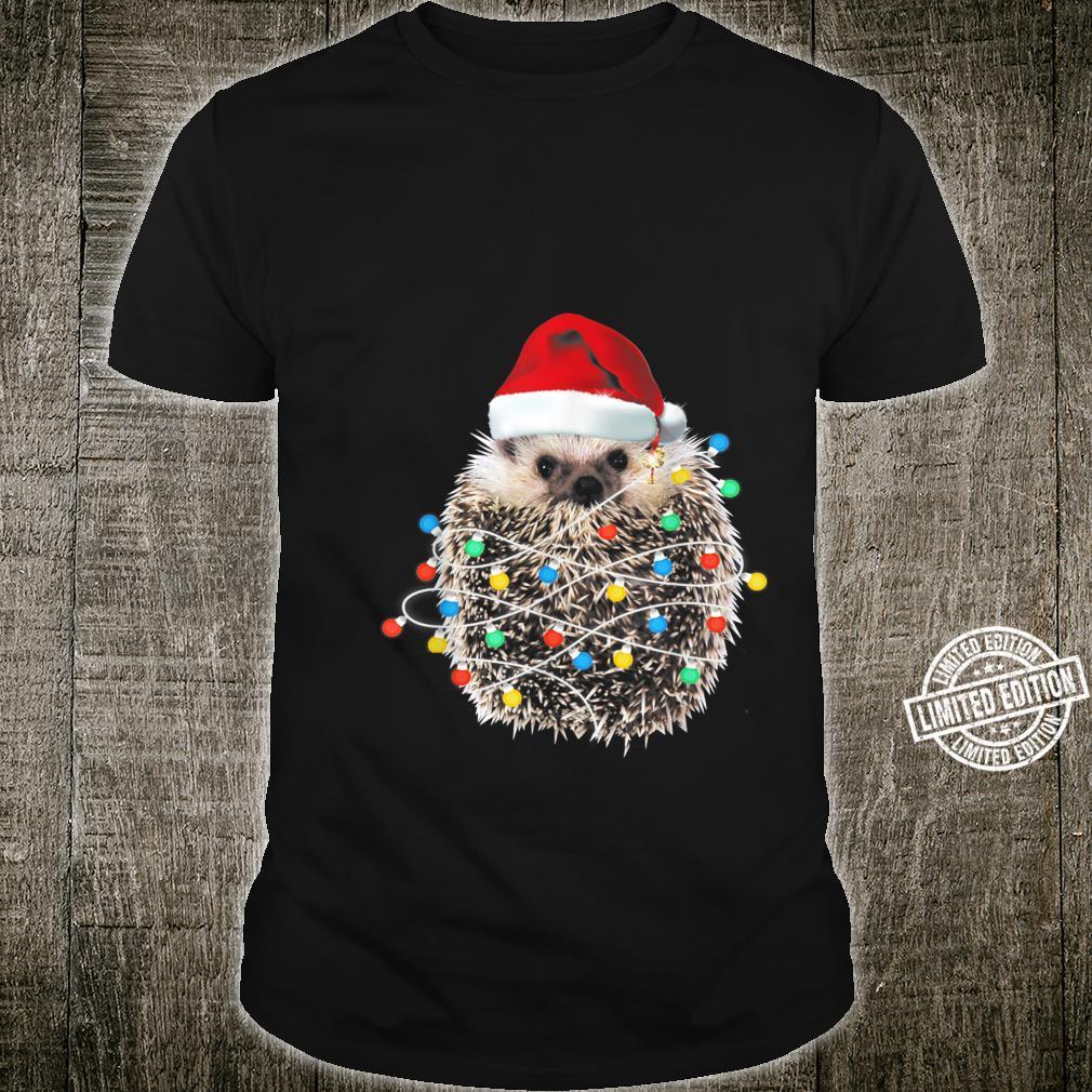 Christmas hedgehogs Shirt