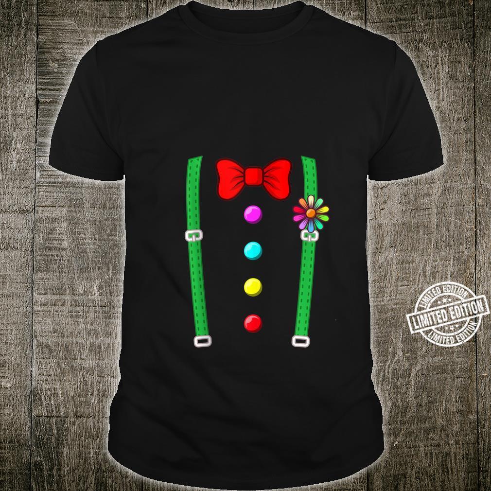 Clown Costume Circus Halloween Costumes Shirt