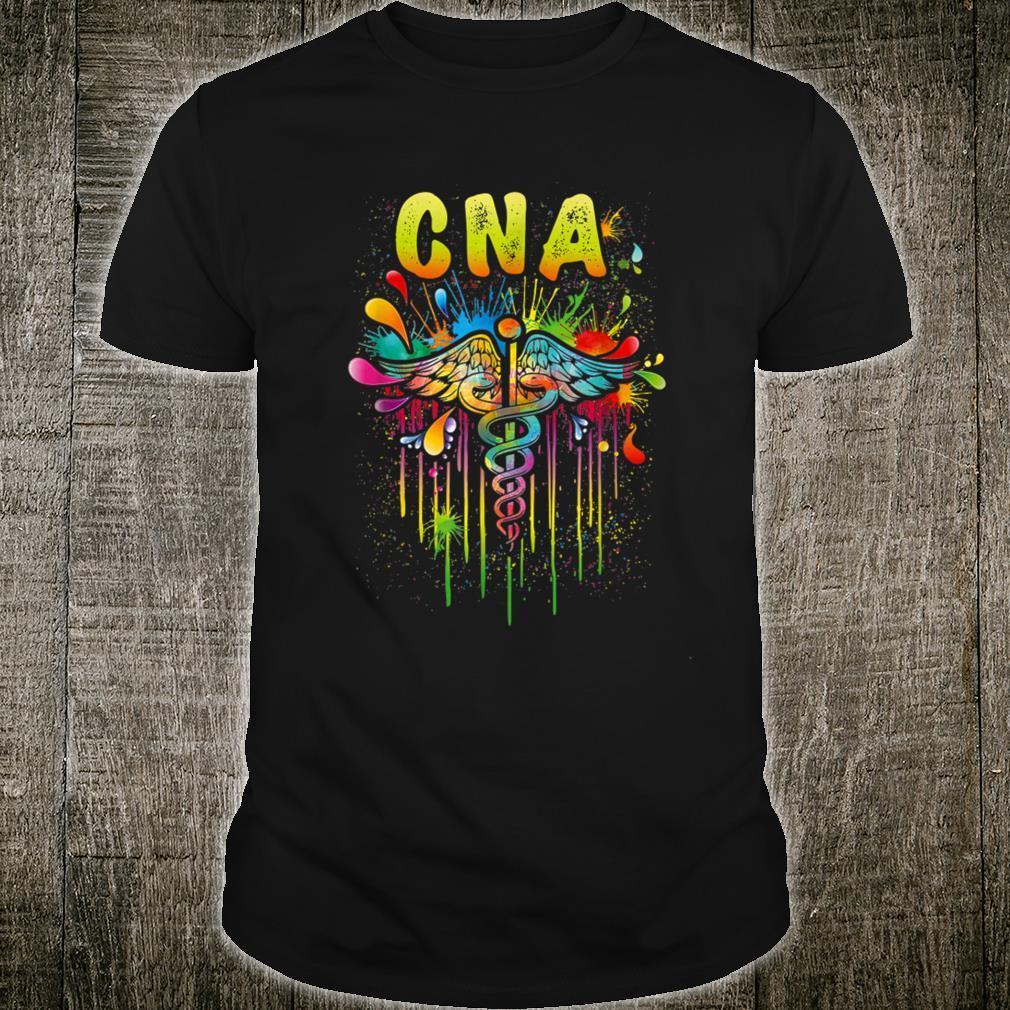 Cna nurse tie dye Shirt