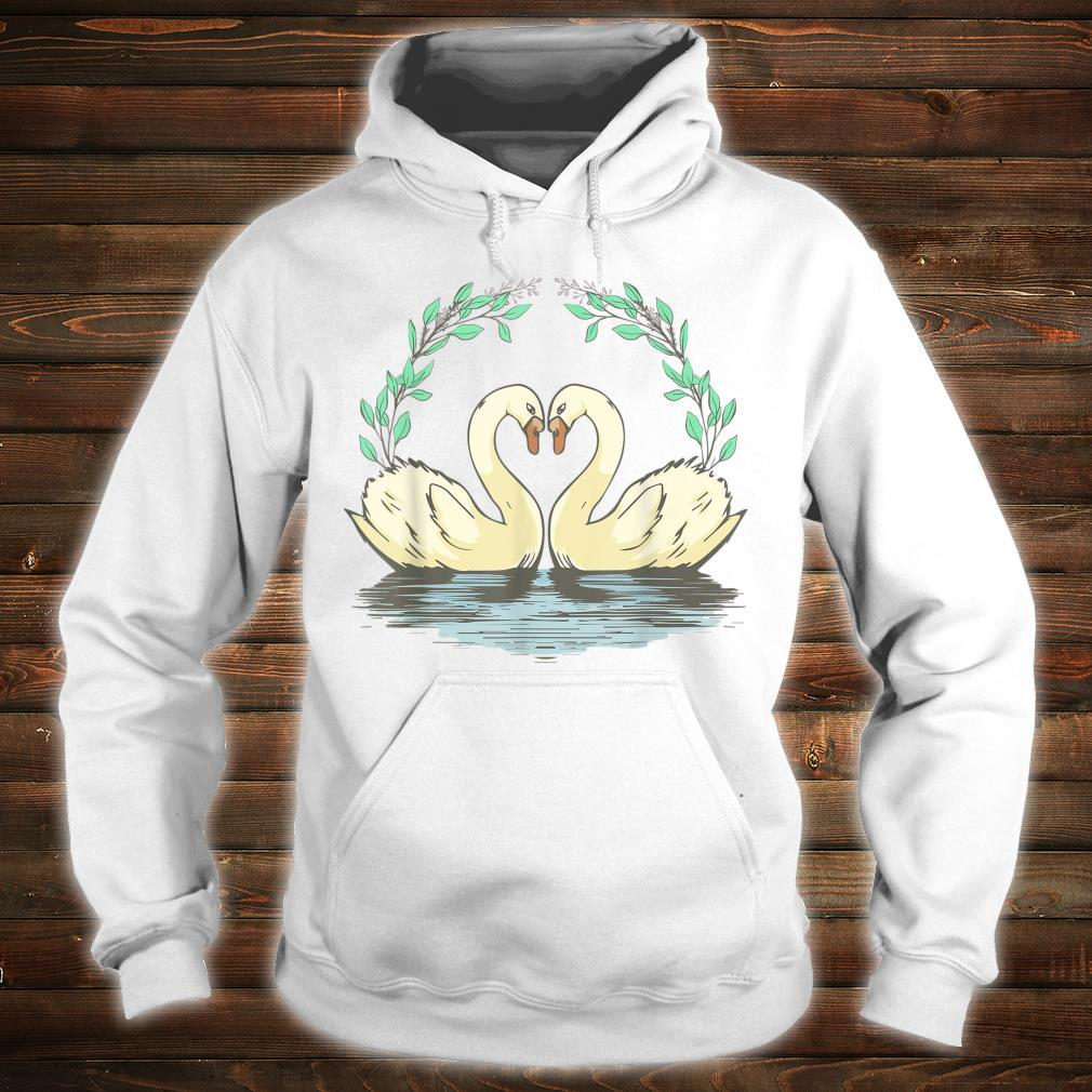 Cottagecore Aesthetic Duck Goose Geese Heart Shirt hoodie