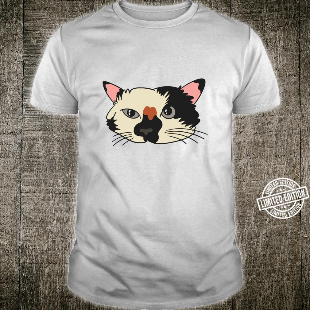 Cute Kitty Face Cat Kitten Animals Shirt