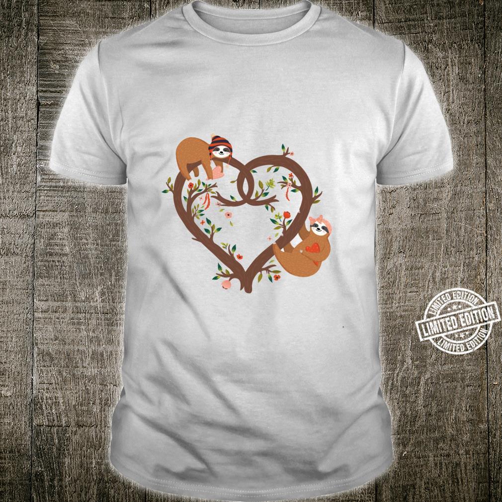 Cute Sloth Love Heart Sloth Shirt