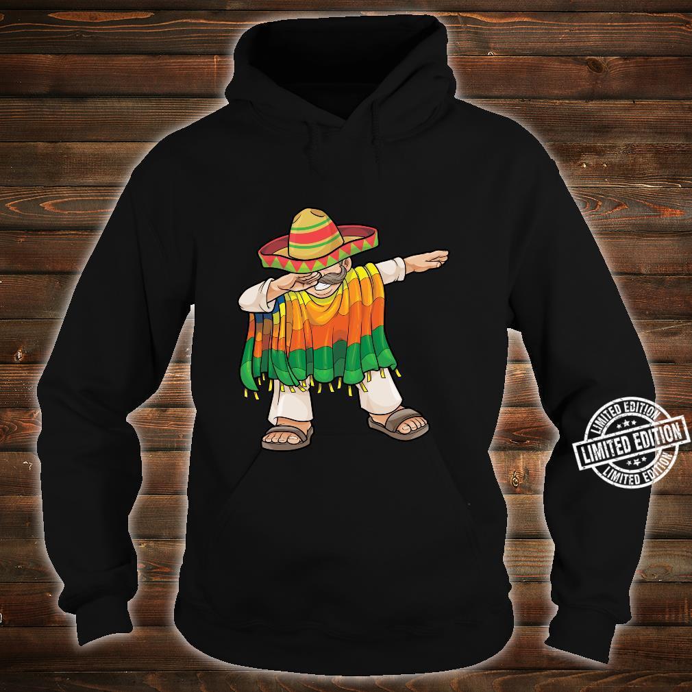 Dabbing Mexican Poncho Cinco de Mayo Sombrero Dab Shirt hoodie