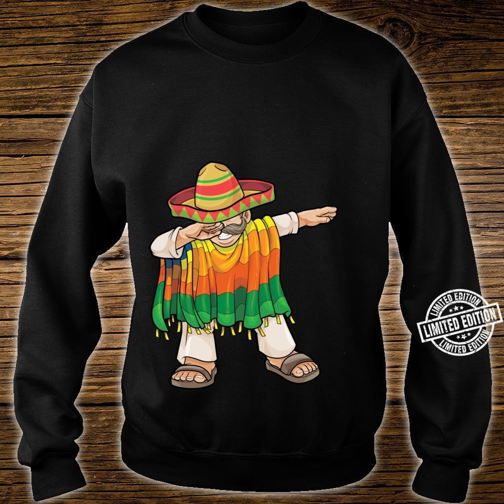 Dabbing Mexican Poncho Cinco de Mayo Sombrero Dab Shirt sweater