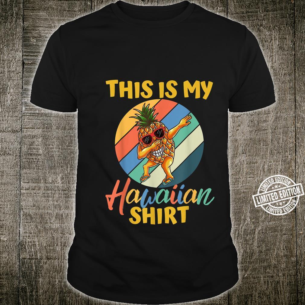 Dabbing Pineapple Boys Girls This Is My Hawaiian Shirt