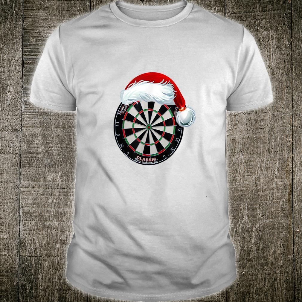 Dartboard Christmas Hat Shirt