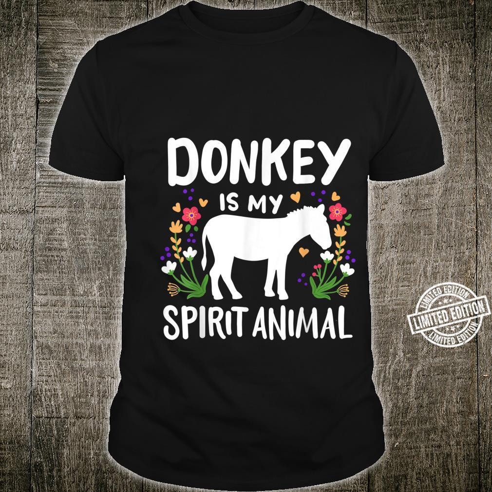 Donkey Spirit Animal Shirt