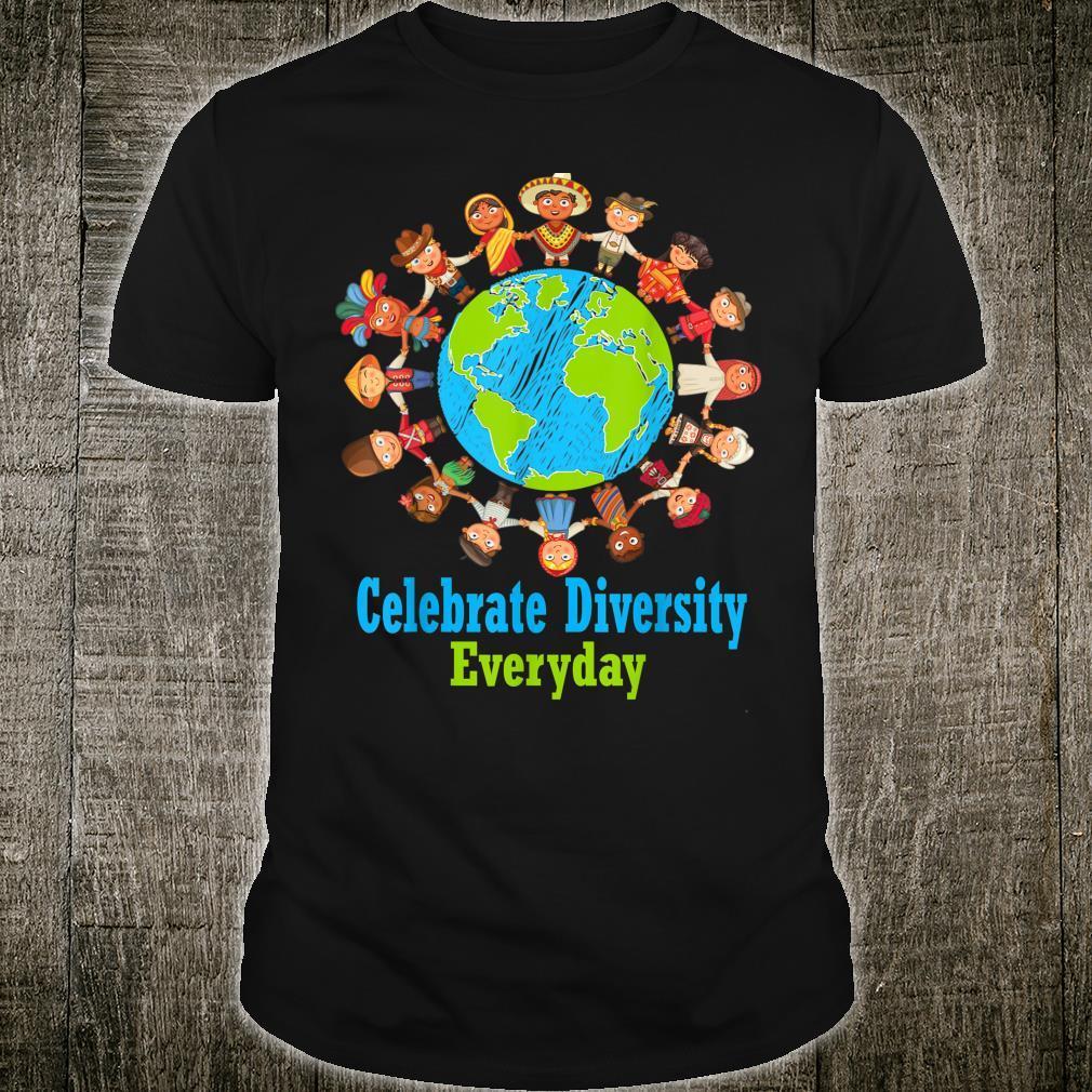 Feiern Sie die Vielfalt des Alltags für Lehrer und Schüler Shirt