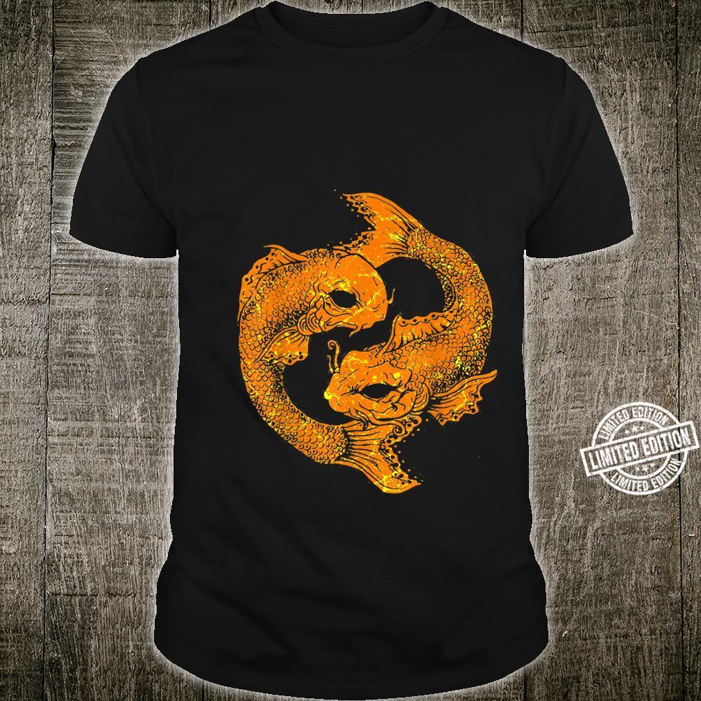 Fish Pisces Astrology Astrological Zodiac Sign Koi Japan Shirt