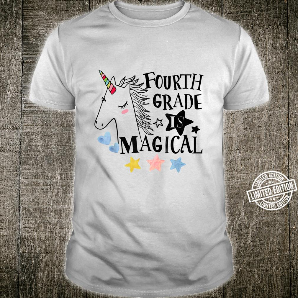 Fourth Grade is magical Unicorn teacher & students Shirt