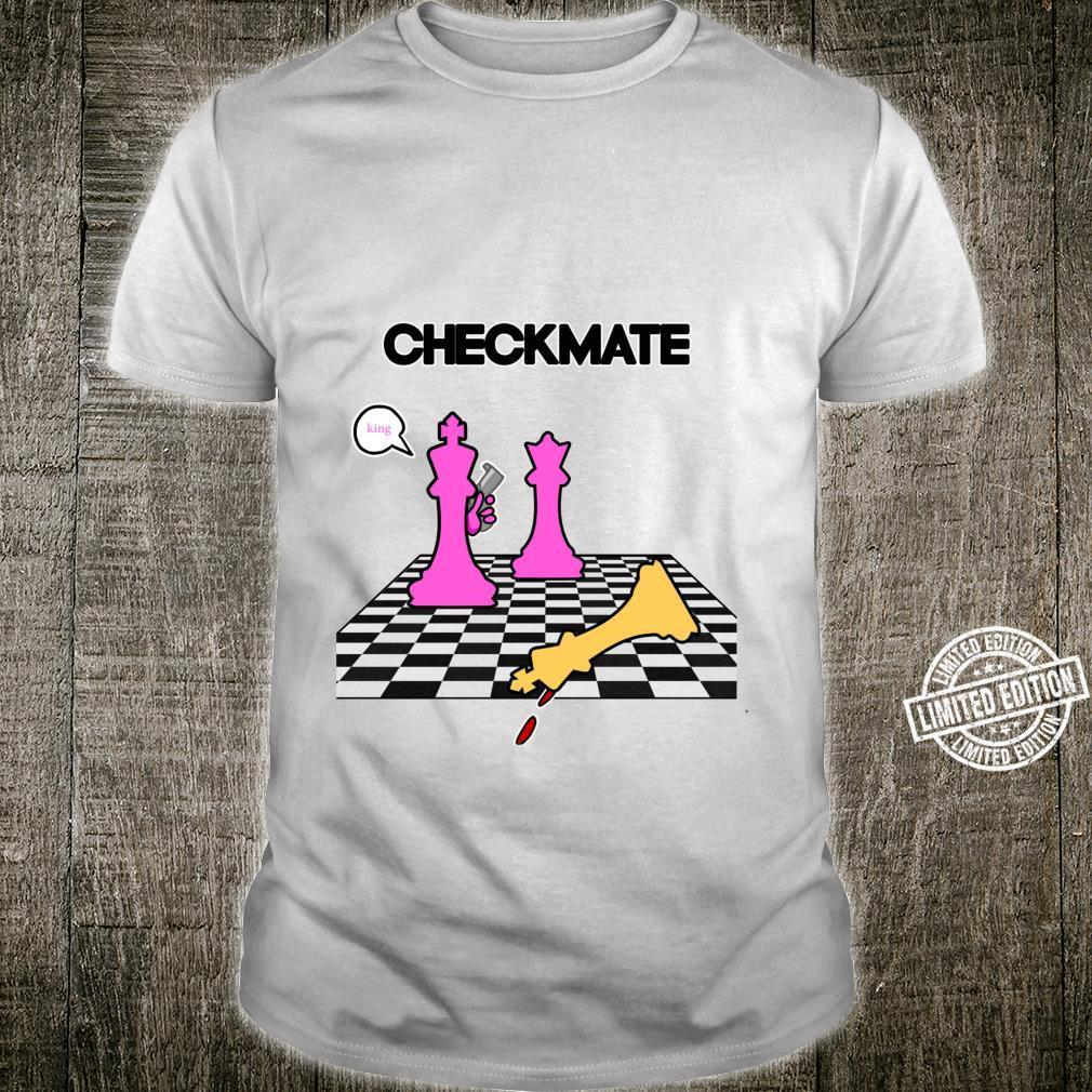 Funny Chess Checkmate Game Humor set Player Chess Shirt