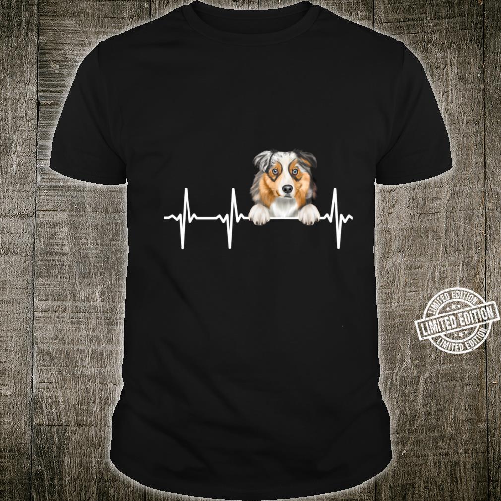Funny Dog Heartbeat For Australian Shepherds Shirt