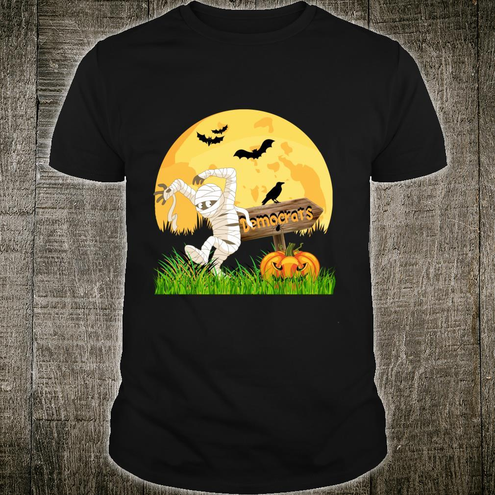 Funny Halloween Anti Democrats Biden Shirt