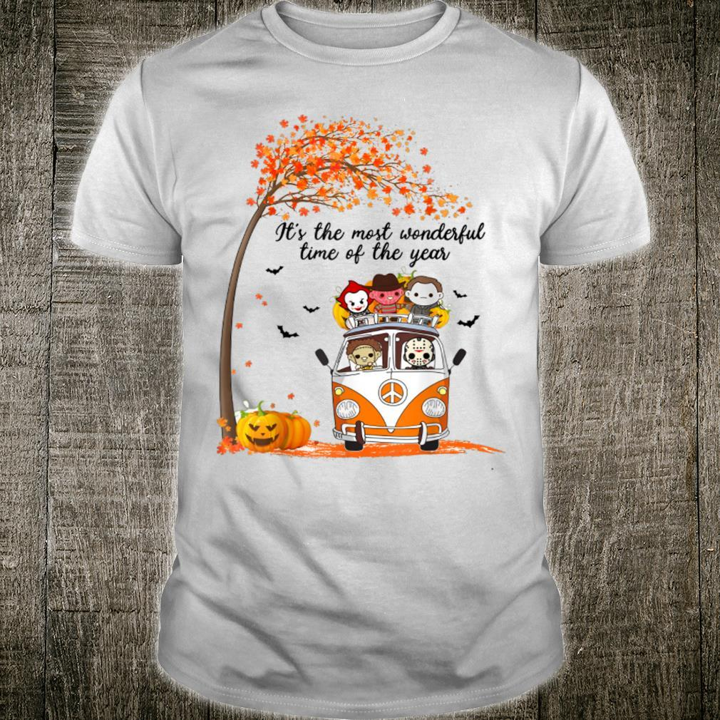 Funny Horror The Most Wonderful Time Of The Year Halloween Shirt