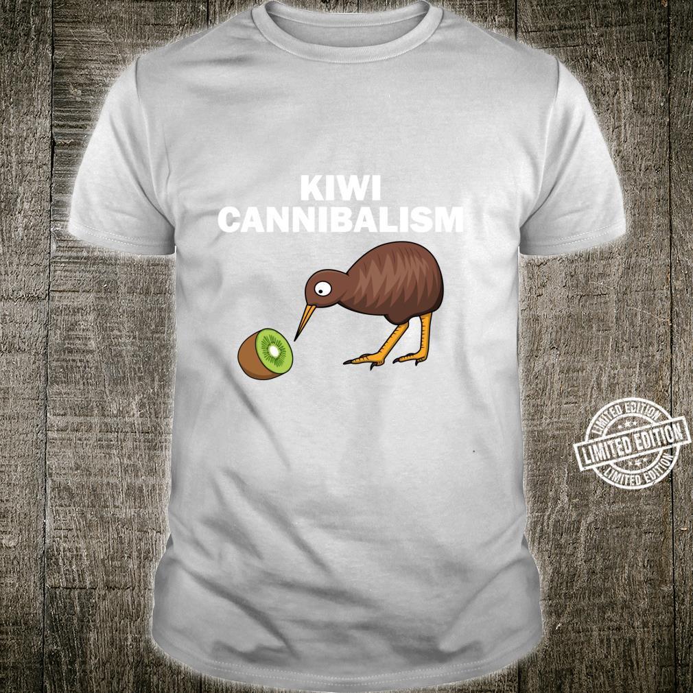 Funny Kiwi Bird Cannibalism For Fruit Shirt