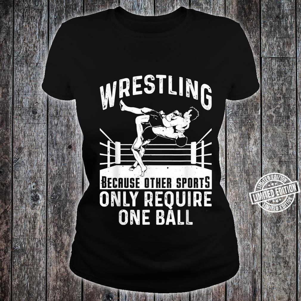 Funny Wrestling Extreme Wrestler Sport Shirt ladies tee