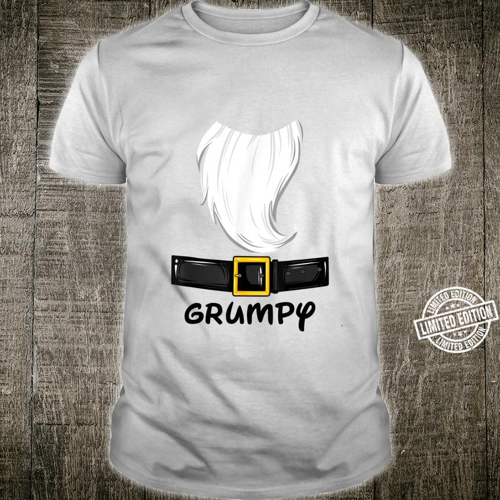 Grumpy Dwarf Halloween Costume Idea Grumpy Dwarf Theme Shirt