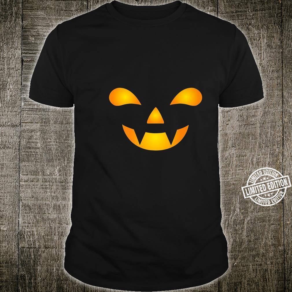 Halloween Pumpkin Face Jackolantern Premium Shirt