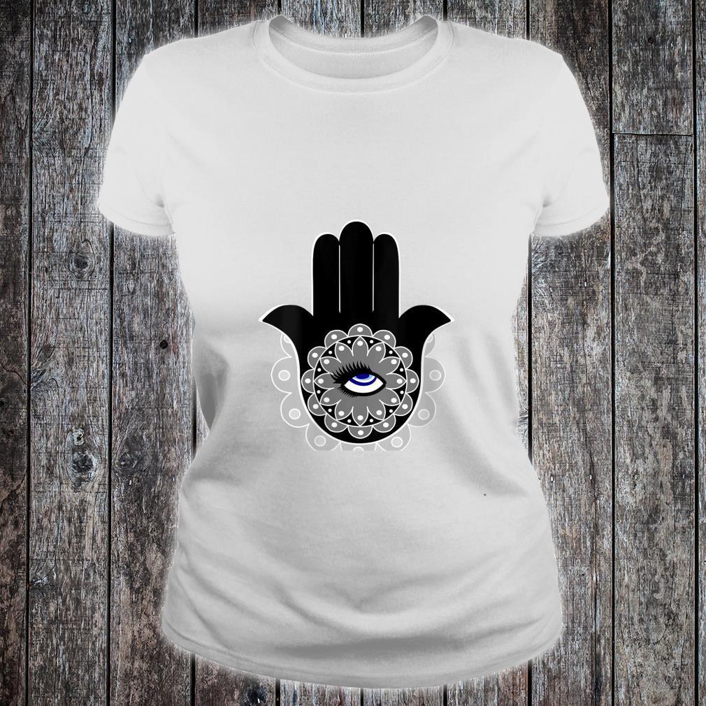 Hamsa Eye Roll Evil Eye Shirt ladies tee