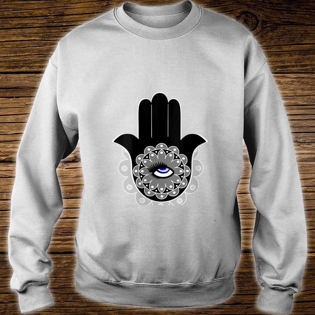 Hamsa Eye Roll Evil Eye Shirt sweater