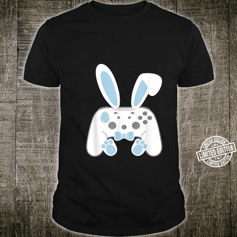 Happy Easter Day Video Game Easter Bunny Gaming Controller Shirt