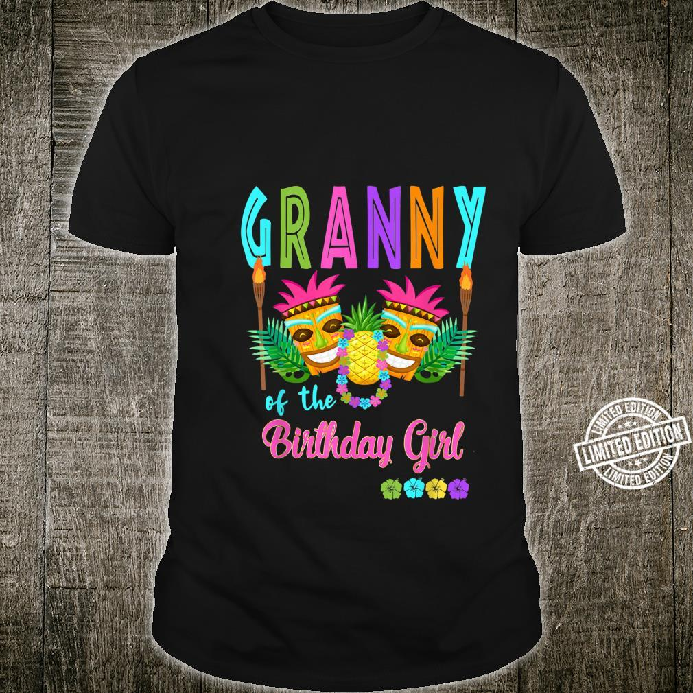 Hawaiian Luau Birthday Party Matching Tiki Outfit Summer Shirt