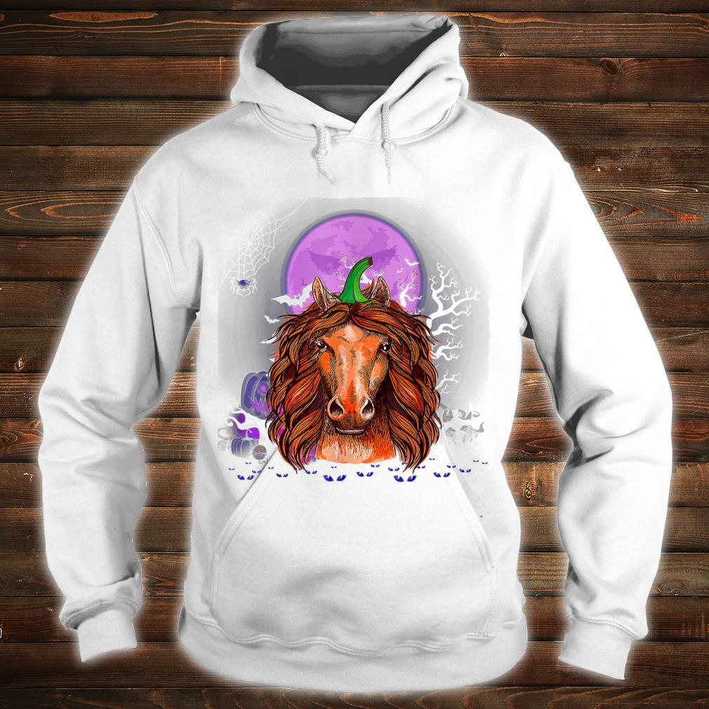 Horse Pumpkin Halloween Horse Halloween Costume Shirt hoodie