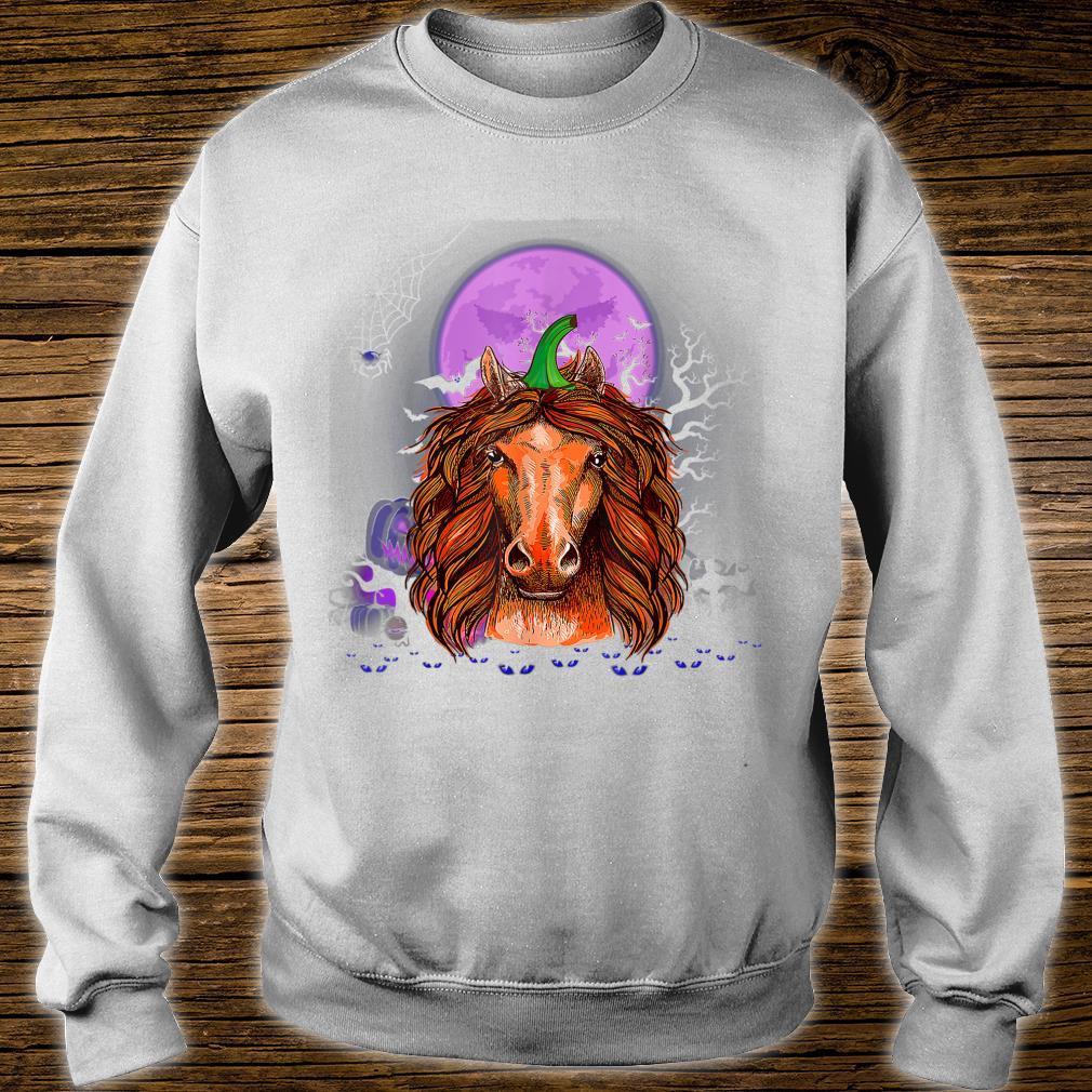 Horse Pumpkin Halloween Horse Halloween Costume Shirt sweater