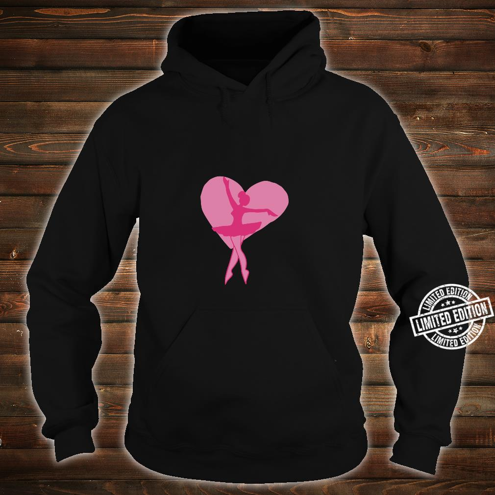 I love Ballet Shirt hoodie