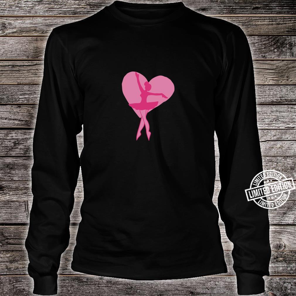 I love Ballet Shirt long sleeved