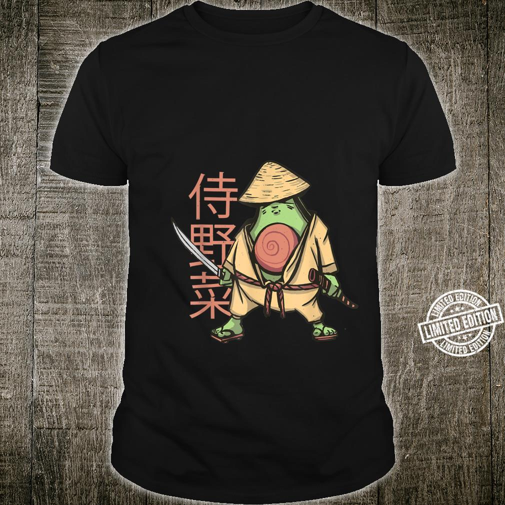 Japanische Samurai Avocado Krieger Shirt