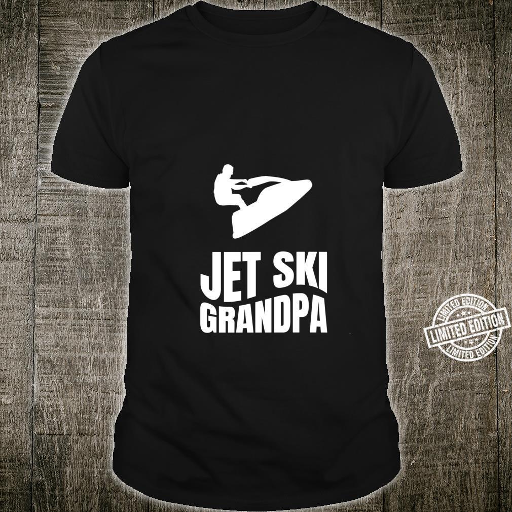Jet Rider Grandpa Outfit SeaDoo Grandfather Jet Ski Shirt