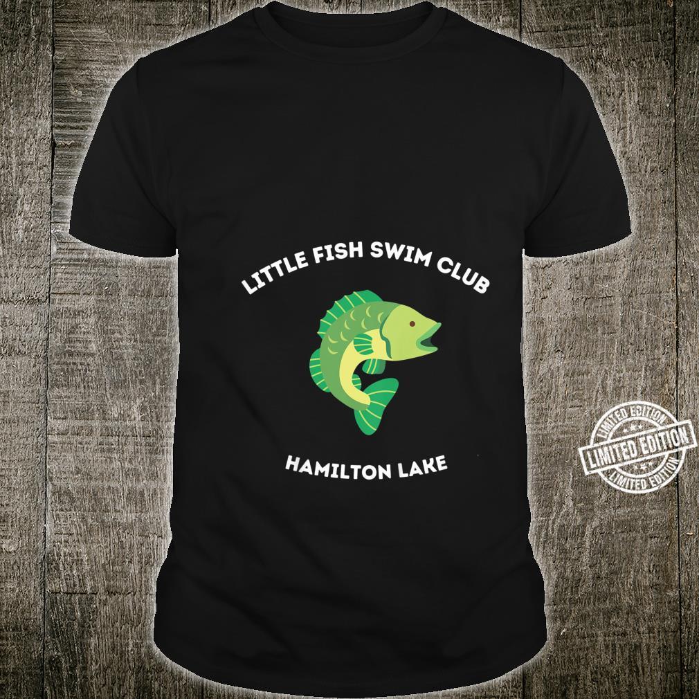 Kids Hamilton Lake, Indiana Little Fish Cute Shirt