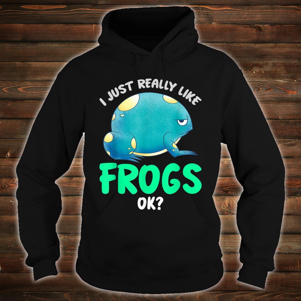 Kröten Geschenk Tierliebhaber Amphibien Frosch Shirt hoodie