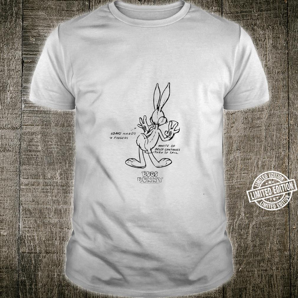 Looney Tunes Bugs Bunny Detail Shirt
