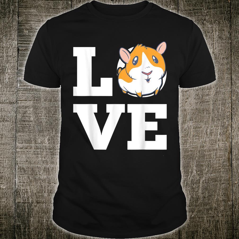 Love Guinea Pig guinea pig pet owners Shirt