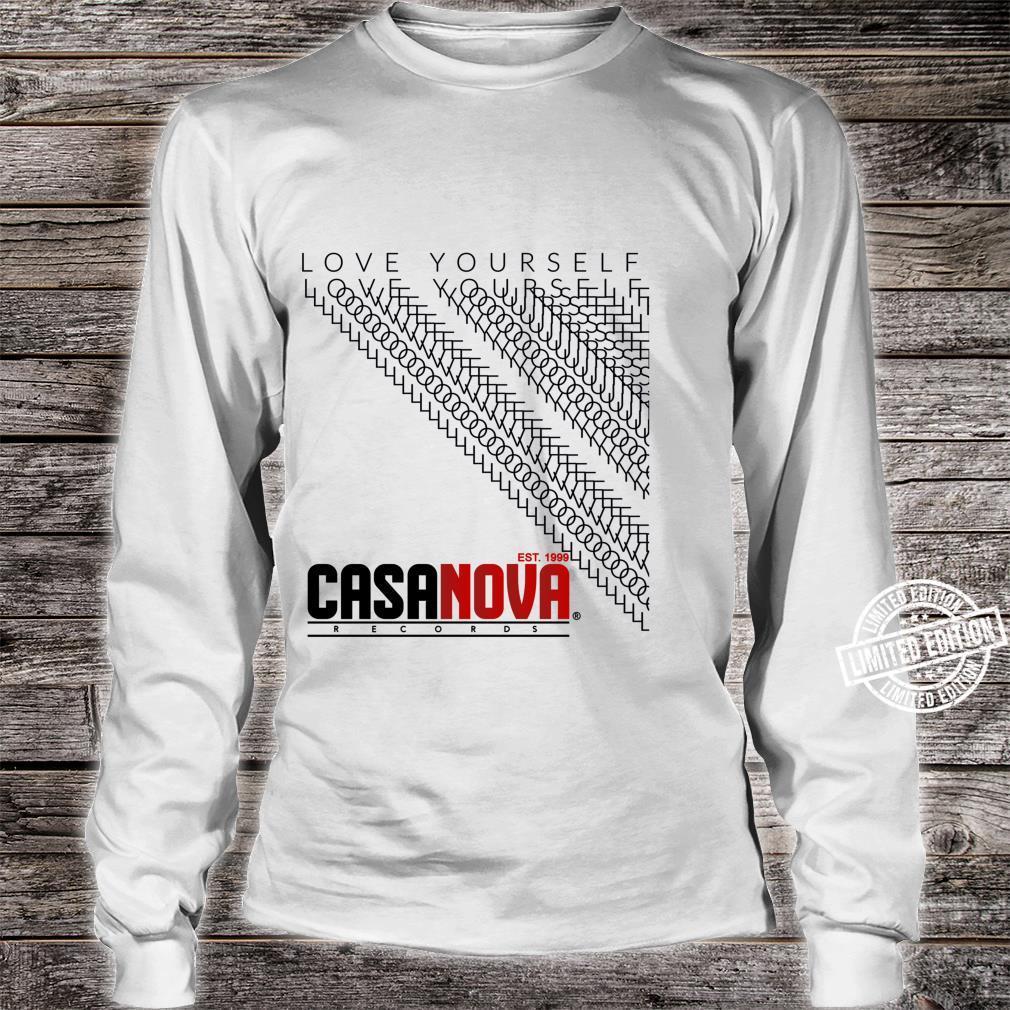 Love Yourself Shirt long sleeved